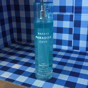 Bath & body works papaya paradise cove fine mist